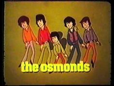 70's Jackson 5 & Osmonds animated cartoon commercial Saturday Mornings on ABC
