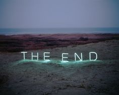 "Jung Lee, The End, 2010 / Green Art Gallery, Dubai / two series—Day and Night and Aporia, which means ""coming to a dead end"" in Greek. / installation"