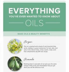 Everything You've Ever Wanted To Know About Oils #Beauty #Musely #Tip