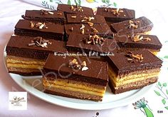 Web Confectionery – For homemade cake lovers – pastry types Hungarian Cake, Mousse, Sweet Cakes, Cookie Desserts, Homemade Cakes, Confectionery, Cake Cookies, Creme, Cheesecake
