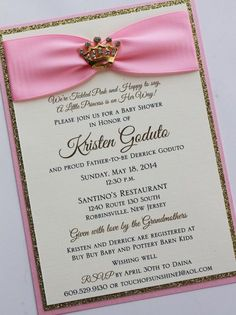 pink and gold invitation gold glitter invitation 1st birthday