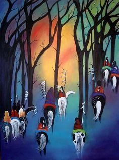 Following the Trail of the Ancestors, by Jan Oliver-Schultz