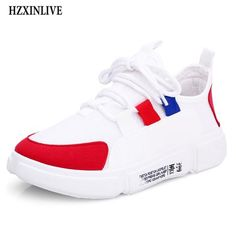 481ca5f1392 HZXINLIVE 2018 Autumn Woman Casual Shoes Sneakers Fashion Mixed Colors  Flats Ladies Vulcanized Shoes zapatos mujer Comfortable