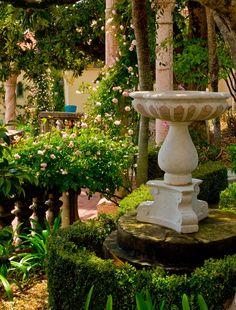 Hearst Castle garden (San Simeon, CA)