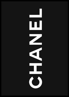 Chanel Logo in black art print Gucci Wallpaper Iphone, Chanel Wallpapers, Cellphone Wallpaper, Cute Wallpapers, Chanel Poster, Chanel Logo, Poster Wall, Poster Prints, Framed Prints