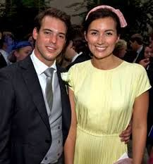 Prince Felix and Princess Claire of Luxembourg