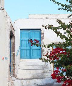 Megalochori, Santorini, Greece - Map of Joy