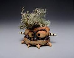 Image result for clay creature vessels
