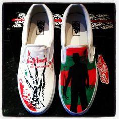 Gift Guide: 'A Nightmare on Elm Street' Custom Sneakers   Gift Guide   FEARNET