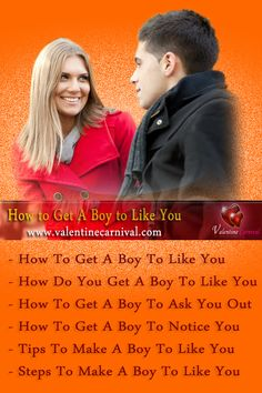 Hey guys, If you're wondering how to get a boy to like you. Check out the some special tips to get a boy.