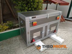 theoprofil.com Boxes, Dog, Outdoor Decor, Home Decor, Diy Dog, Crates, Decoration Home, Room Decor, Box