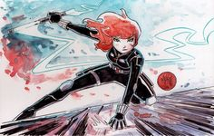 Black Widow, by Mike Maihack