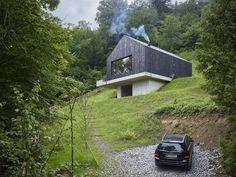 Haus am Thurnberger Stausee : Moderne Häuser von Backraum Architektur