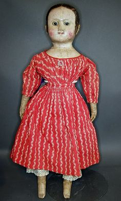 Antique Izannah Walker Doll