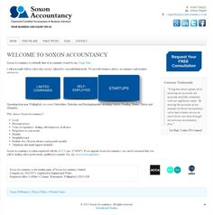 Website Created For an Accountant based near Wallingford, Oxfordshire