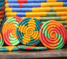cestería Guacamaya colombiana, artesania colombiana