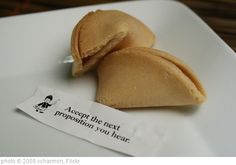 'Opened Fortune Cookie' photo (c) 2008, ccharmon - license: http://creativecommons.org/licenses/by-nd/2.0/