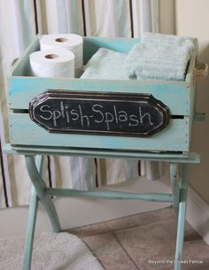 luggage rack a crate a fun new upcycled piece, bathroom ideas, home decor, outdoor furniture, painted furniture, repurposing upcycling, storage ideas