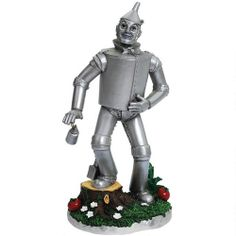 One of my favorite discoveries at WBShop.com: The Wizard of Oz Tin Man Oil Can Figurine