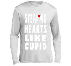 Stealing Hearts Like Cupid Funny Cute Valentines Day T-Shirt