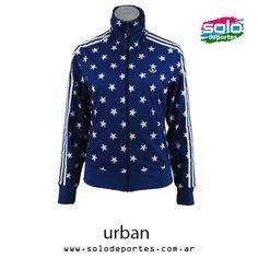 Campera Graphic W Azul/Blanco  Marca: Adidas 10002EX30878001   $ 469,00 (U$S 82,26)