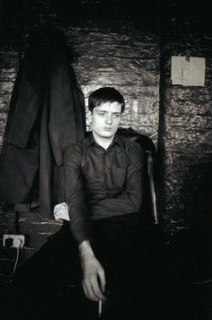 ian curtis of The Joy Division