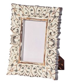 buy 4x6 inches white shabby chic picture frame in bulk wholesale hand crafted lattice work