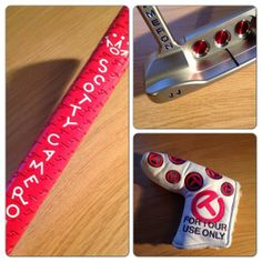 """April 12, 2014: """"Sad I know... But I've wanted my own personalised Scotty Cameron since the age of 12!! #massivethanks,"""" said European Tour player Chris Hanson."""