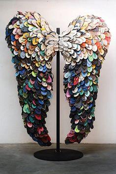 Skrzydła z japonek - flip flops into wings