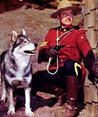 "Sergeant Preston of the Yukon and his dog King!  Loved this show!!! ""Well, King, this case is closed."""