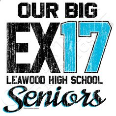 Our Big Exit.  Seniors 17.  New design for the Class of 2017!