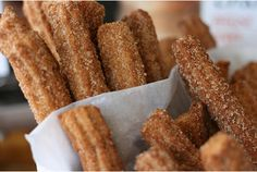 churros...now gimme the chocolate dip!