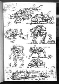 Industrial Design Sketch, Tecno, Concept Ships, Matte Painting, Environment Concept Art, Creature Design, Digital Illustration, Character Design, Sketches