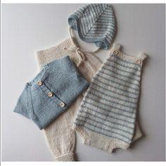 Knitting For Kids, Baby Knitting Patterns, Baby Patterns, Knitted Baby Clothes, Baby & Toddler Clothing, Pinterest Baby, Diy Bebe, Baby Kind, Kid Styles