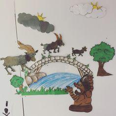 Fredrikstad, Billy Goats Gruff, Pre School, Fairy Tales, Teaching, Fictional Characters, Fairytail, Adventure Movies, Education