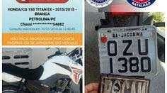 NONATO NOTÍCIAS: Apreendido veiculo com restrição de roubo em Senho...