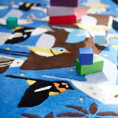 Browse our entire selection of kids area rugs. From patterned, to solid, to interactive area rugs we've got your floor covered.