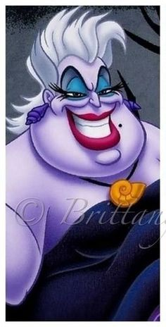 """Day 12 """"favorite villain"""" I have 3 favorite villains; Ursula, Malificent, and The Queen of Hearts"""