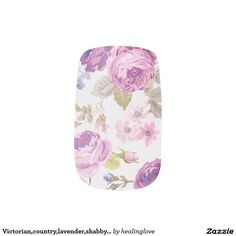 Victorian,country,lavender,shabby,chic,roses,paris Minx® Nail Art