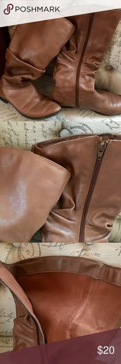 Aldo boots Calf height leather boots good condition Aldo Shoes Ankle Boots & Booties