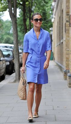 Pippa Middleton -love the collar and color