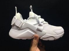 a6db59703c0b Mens Womens Nike Air Huarache Run Ultra BR Black Gold White Running Shoes
