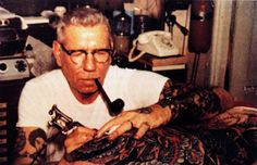 If I could be this guy, I would.  Sailor Jerry is my inspiration and tastes good too mixed with diet coke ;)  I'm thinking it's time for a new tattoo!!!