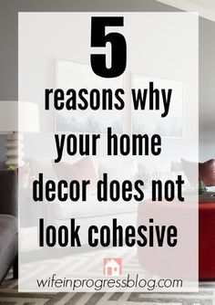Splendid 5 Reasons Why Your Home Decor Does Not Look Cohesive – and how to fix it! The post 5 Reasons Why Your Home Decor Does Not Look Cohesive – and how to fix it!… appeared first on Poll . Kitchen Decorating, Decorating Your Home, Diy Home Decor, Decorating Ideas, Room Decor, Interior Decorating Styles, Rental Decorating, Home Design, Interior Design Tips