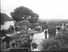 On the road for eviction, via Flickr. abt 1888