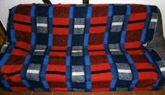 Vintage Retro Blankets Museum: Blankets from the '50s, '60s and '70s