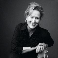 Meryl! What a lovely natural shot... she has aleways been a favourite of mine.