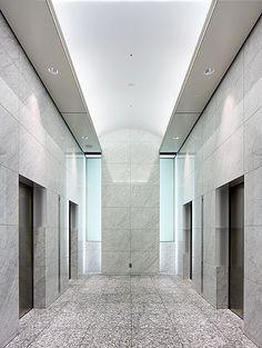 オフィスエレベーターホール(1F)