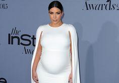 Das Baby der hochschwangeren Kim Kardashian hat sich kurz vor der Geburt endlich gedreht.