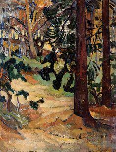 Horace Hurtle Trenerry (Australian, 1899–1958), Wonnaminta, c.1932. Oil on canvas, 35 x 44.5cm.